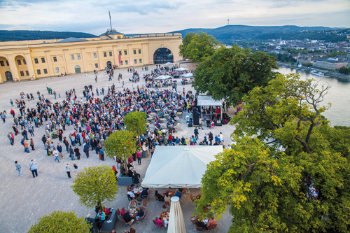 Horizonte World Music Festival - Festung Ehrenbreitstein - - Schlossplatz